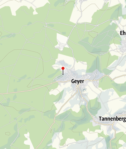 Mapa / Gruppenhaus Geyer