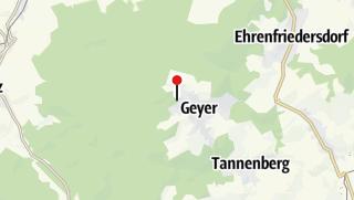 Karte / Gruppenhaus Geyer