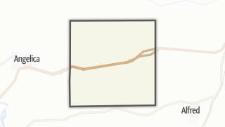 Karte / West Almond
