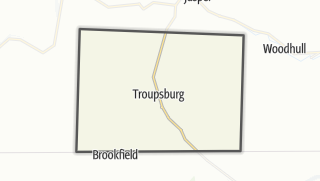 Karte / Troupsburg