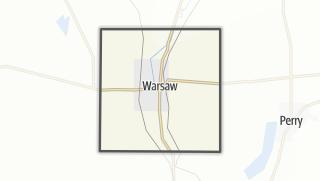 Karte / Warsaw