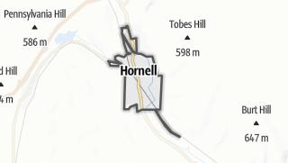 Karte / Hornell