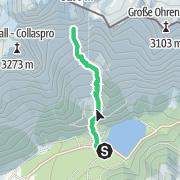 """Map / Durrerspitze: Alpintour """"Facelift"""" und """"Facelift Integrale"""""""