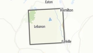 Karte / Lebanon