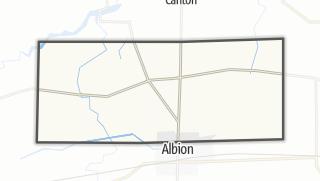 Karte / Gaines