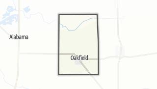 Karte / Oakfield