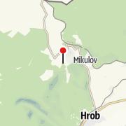 Map / Nove Mesto: Bouřňák Horská služba stanice