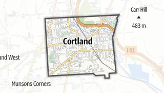 Karte / Cortland