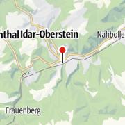 Map / Saar-Hunsrück-Steig von Idar-Oberstein nach Morbach