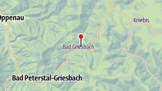 Karte / Magdalenenfelsen