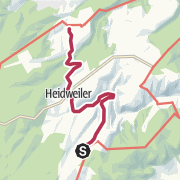 Map / Verbindungsweg Eifelsteig Erlebnisschleife Meulenwaldroute
