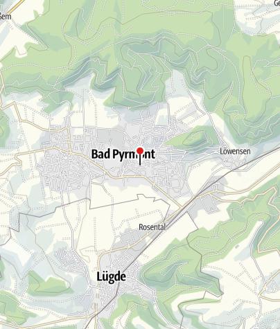 Karte / Parkplatz Bathildisstraße / Post