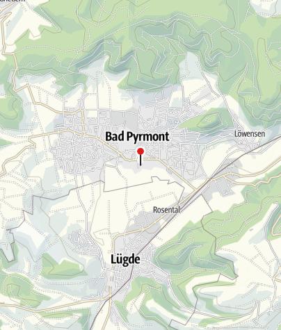 Karte / Parkplatz Autohaus Welger