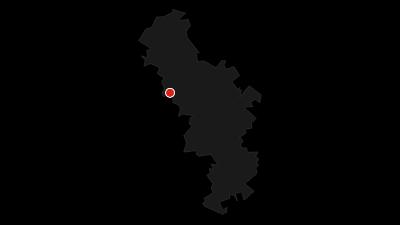 Karte / Kneipp-Anlage und Barfuß-Parcours