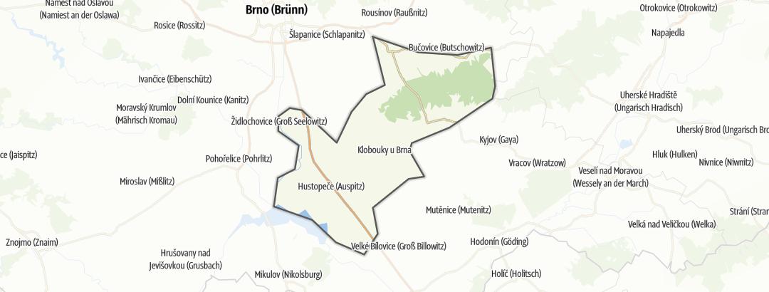 Map / Ždánický les