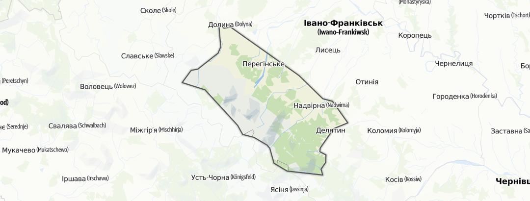 Map / Горгани