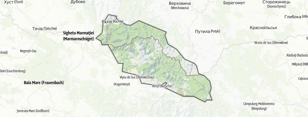 Map / Munţii Maramureşului