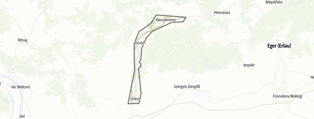 Map / Zagyva-völgy