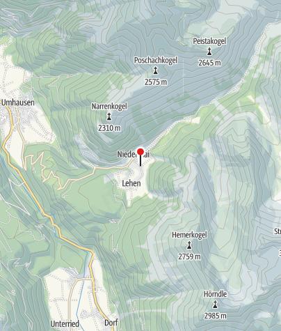 Kaart / Berghotel Falknerhof
