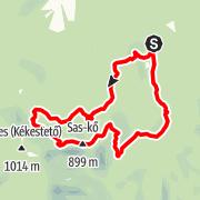 Map / A Mátra legszebb ösvényein