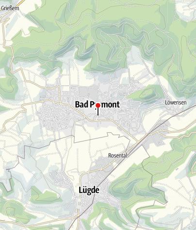 Karte / Die Geburt - Wasserlauf