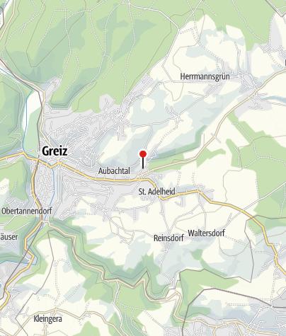Karte / E-Bike-Ladestation am Bäderkomplex Aubachtal, Greiz