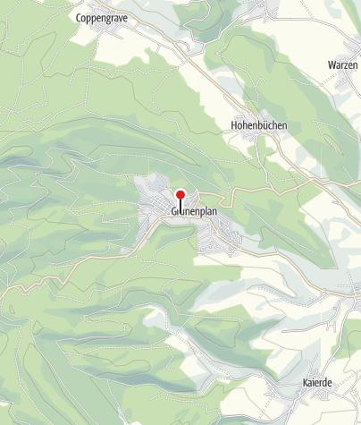 Karte / Parkplatz Grünenplan