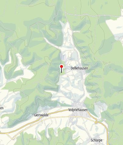 Karte / Bergsee Delliehausen