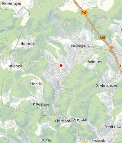 Map / Alter Flecken Freudenberg