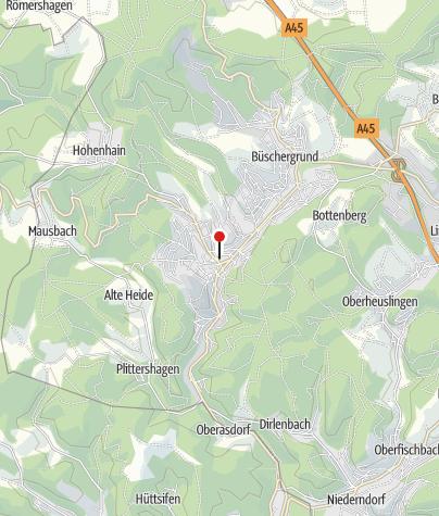 Map / Alte Brüderstraße (in Freudenberg)