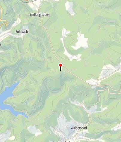 Karte / Waldinformationszentrum Forsthaus Hohenroth