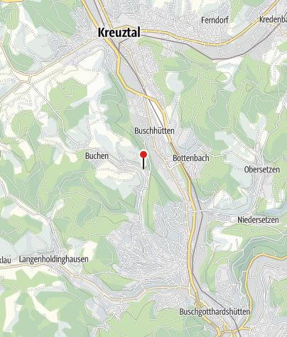 Kaart / Heimatstube Buchen-Sohlbach