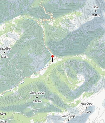Map / Trenta Lodge (Dom Trenta)