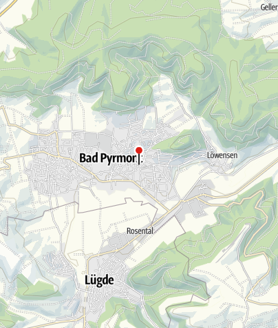 Karte / Testzentrum Oesdorfer Straße