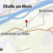Map / Einzelunterricht Reiten in Heidesheim am Rhein
