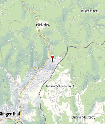 """Mapa / Berggasthaus & Pension """"Schöne Aussicht"""""""
