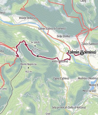Map / S 06 - Von Tolmin zum Rifugio Solarie