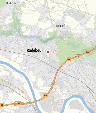 Karte / Schlauchautomat- Radhaus Radebeul