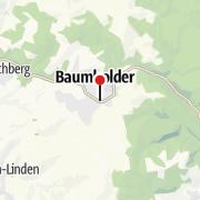 Map / Geführte Wanderung über die Traumschleife Bärenbachpfad am 06. November 2021