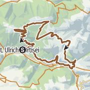 Map / Traumtour über die Seceda Trails