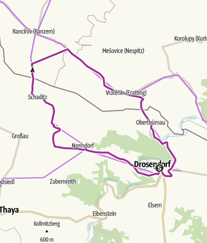 Map / Graslweg-Thayatal - Runde 1