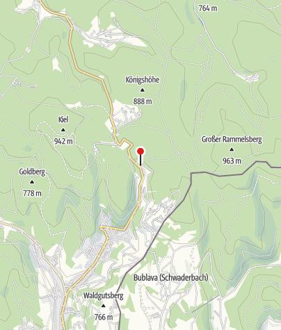 Map / Gaststätte & Pension Greizer Kammhütte