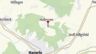 Karte / Parkplatz Holtensen/Schweineberg