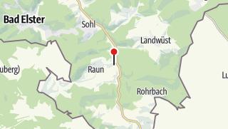 "Map / Gasthof-Pension ""Untere Rauner Mühle"""