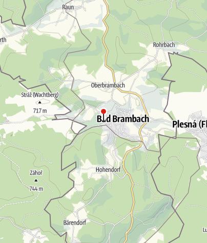 Karte / Parkhotel Bad Brambach
