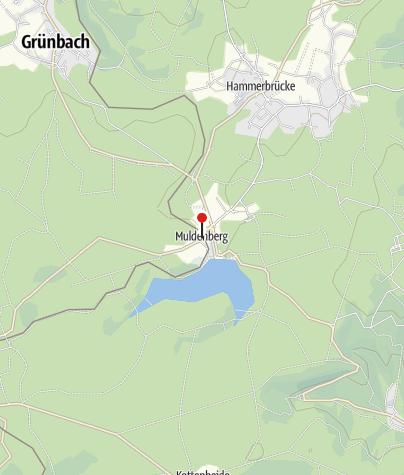 """Mapa / Gasthof-Pension-Camping """"Bergschlößchen"""""""