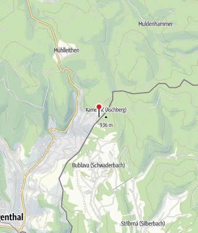 Map / Jugendherberge Klingenthal