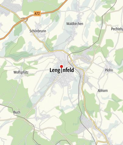 """Map / Hotel """"Lengenfelder Hof"""""""