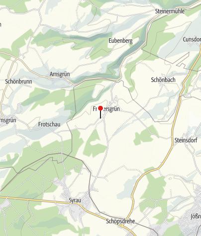 """Map / Landgasthof """"Zum Kühlen Morgen"""""""