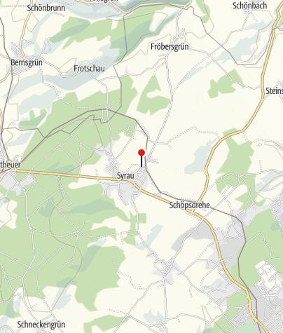 "Map / Pension ""Haus Vogtland"""